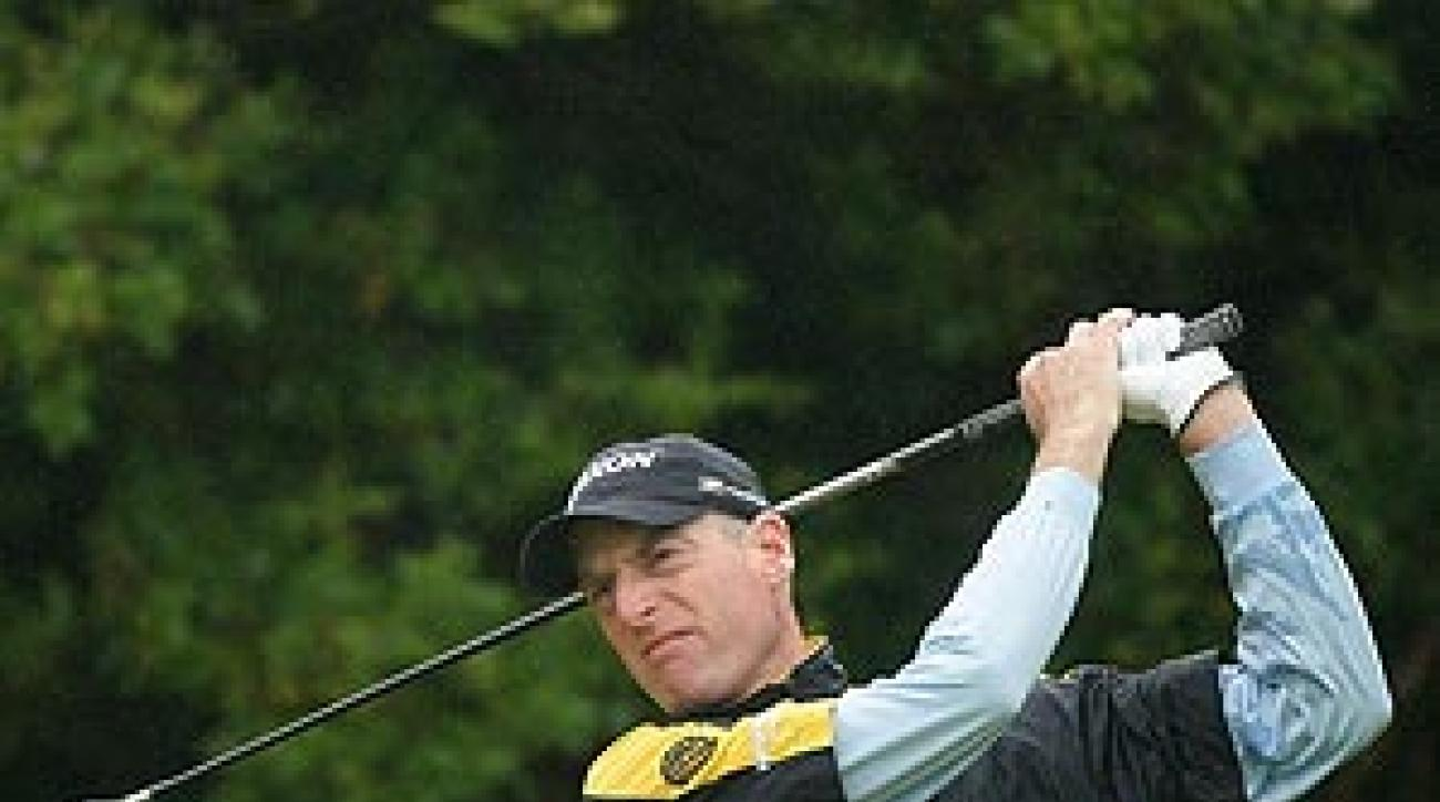 Furyk is at two over par.