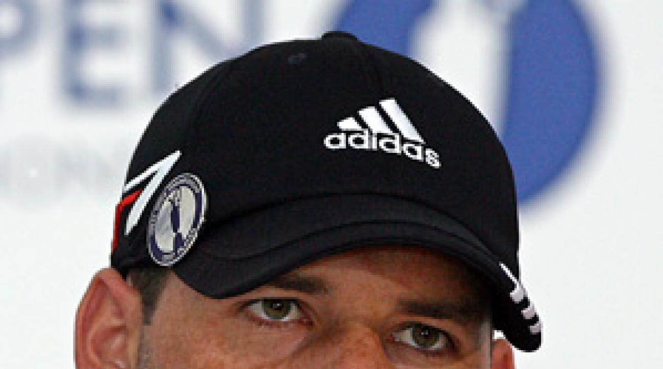 Sergio Garcia shot 89-83 at the Open in 1999.