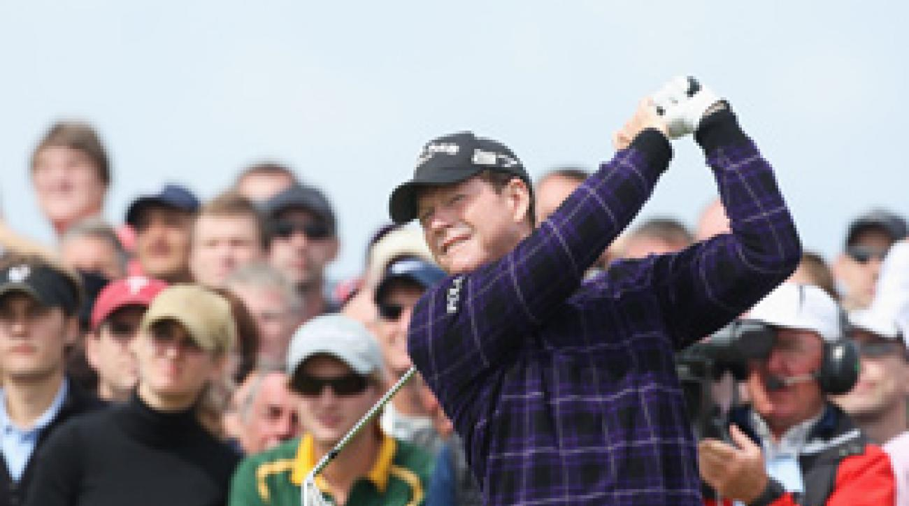 Tom Watson has won the British Open five times.