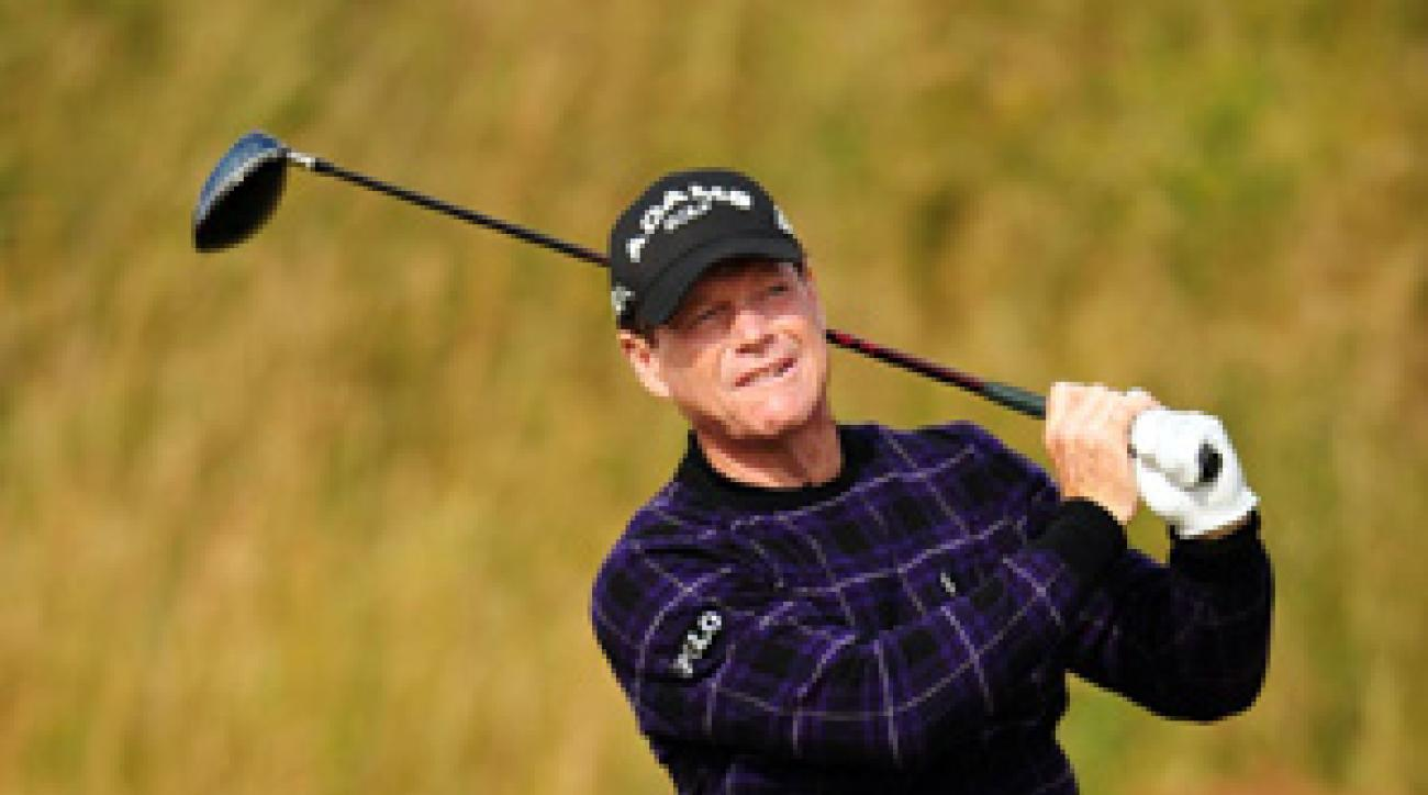 Tom Watson made four bogeys and three birdies on Saturday.