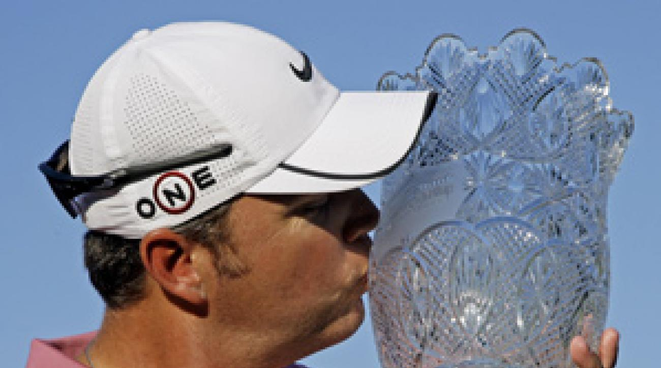 Bo Van Pelt won his first PGA Tour event on Sunday.