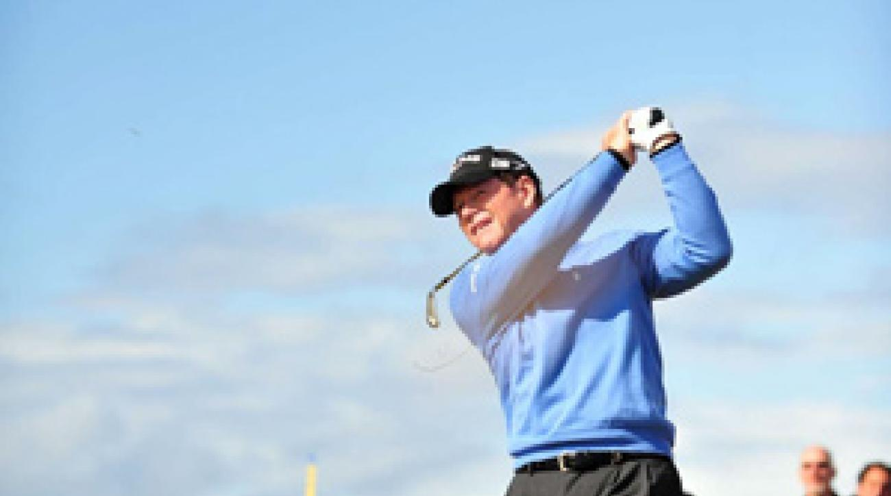 Tom Watson was one stroke away from winning his sixth claret jug.