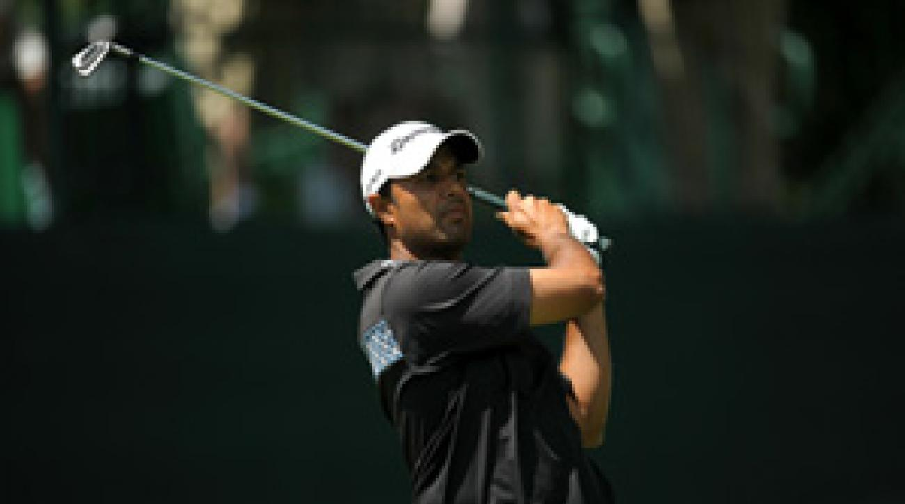 Arjun Atwal made seven birdies and three bogeys on Thursday.