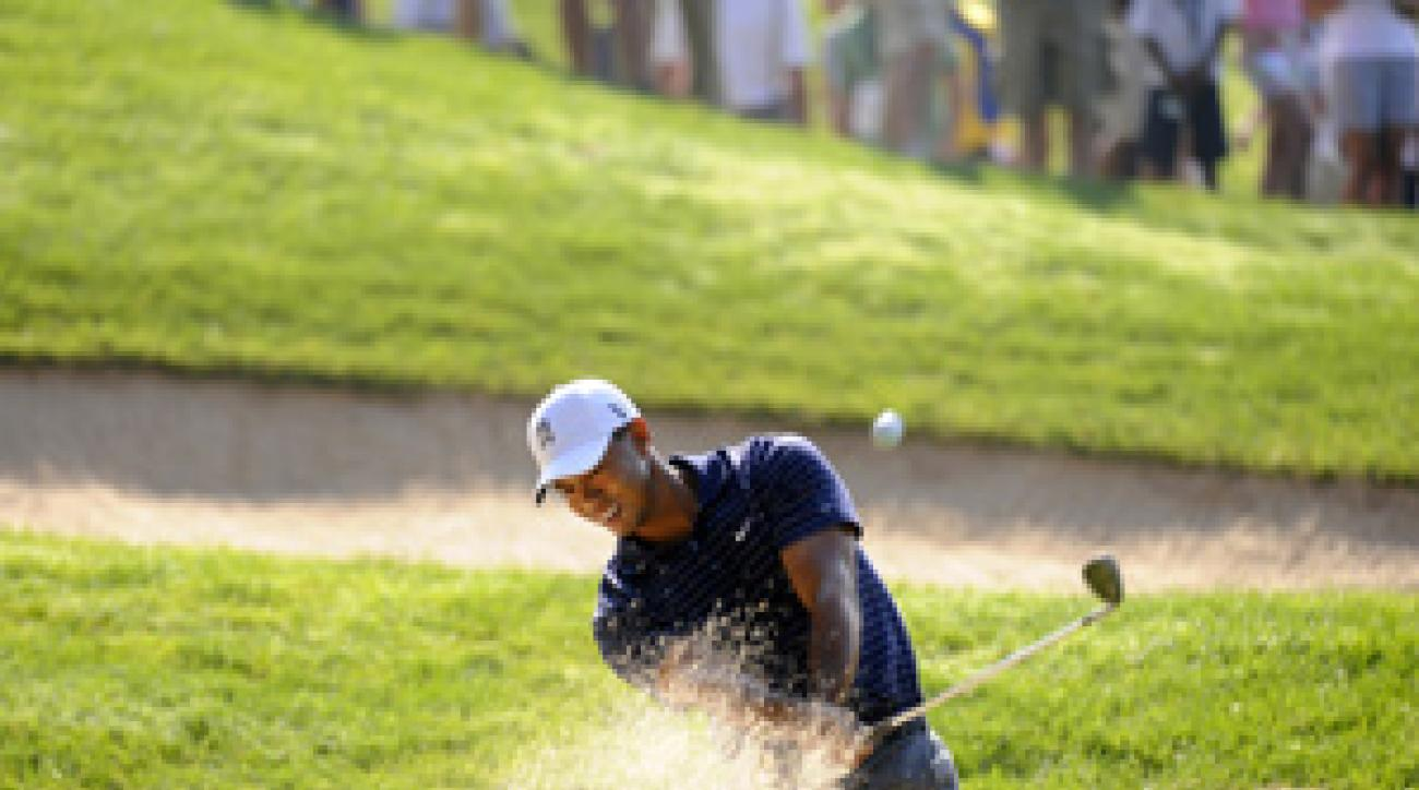 Tiger Woods is making his first start since the U.S. Open.