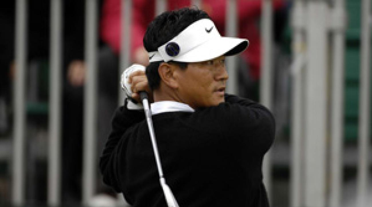 K.J. Choi shot a one-over 72 Saturday.
