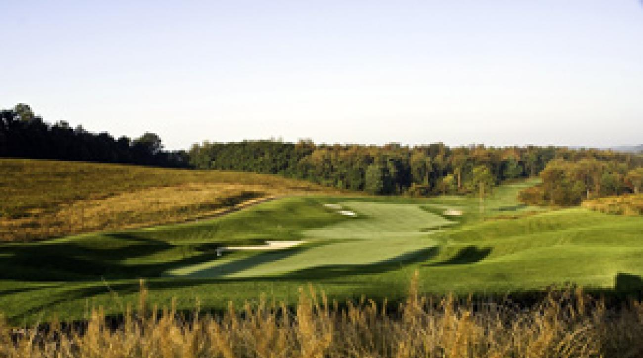 The 18th hole at Longaberger Golf Club.