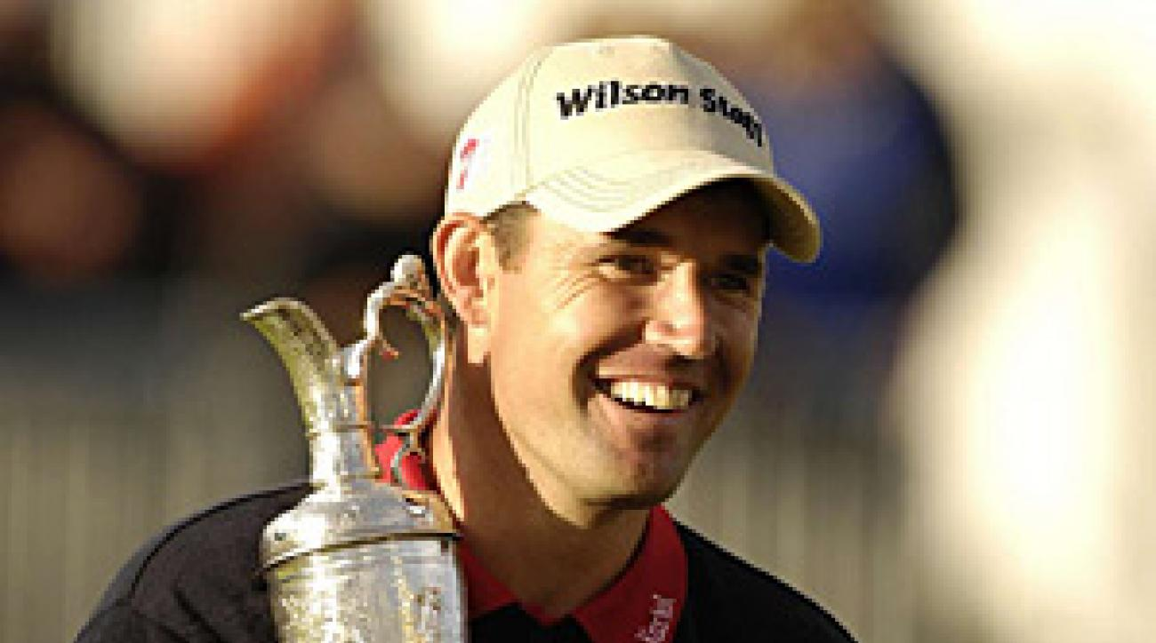 This was Padraig Harrington's first major victory.