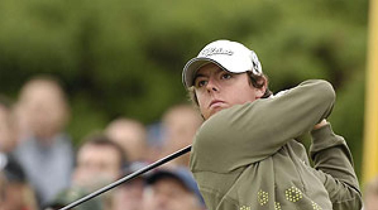 McIlroy grabbed the spotlight with a 68 on Thursday, the day's only bogey-free round.