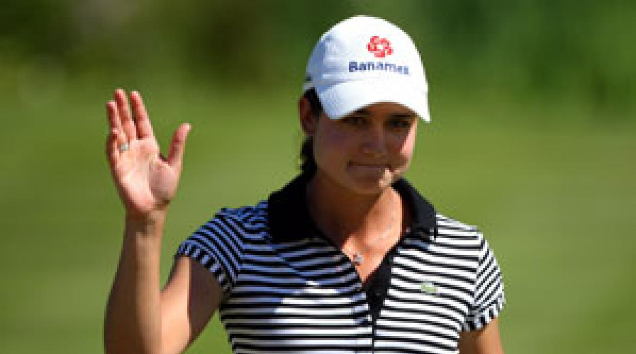 Lorena Ochoa made six birdies on the back nine.