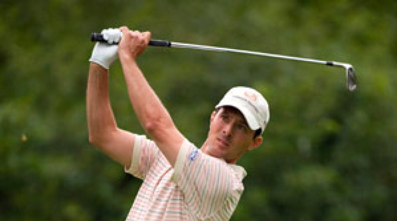 Mike Weir made six birdies and no bogeys Thursday.