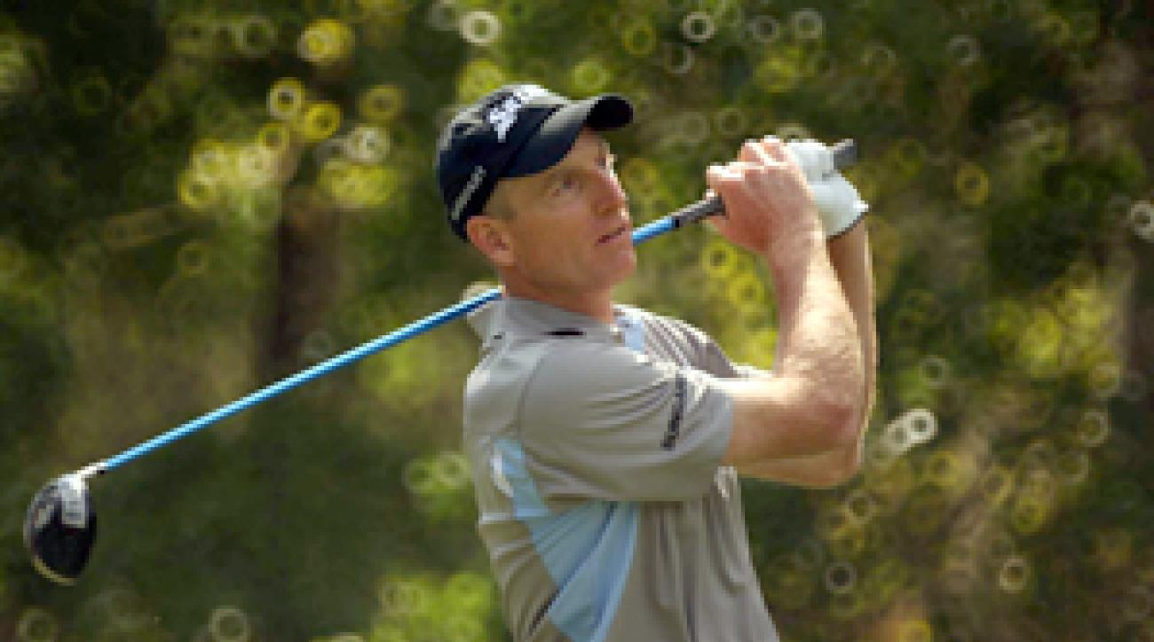 Jim Furyk is the highest-ranked player this week at the Greenbrier.