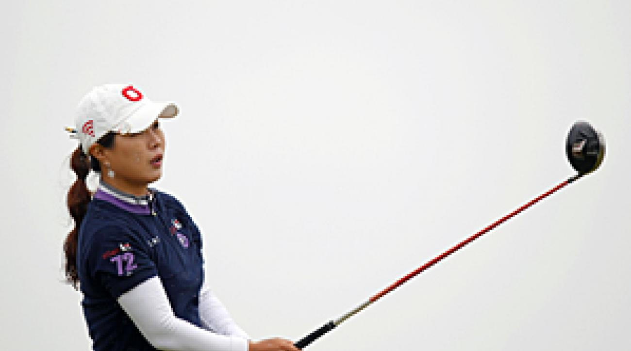 Meena Lee made seven birdies and no bogeys on Thursday.