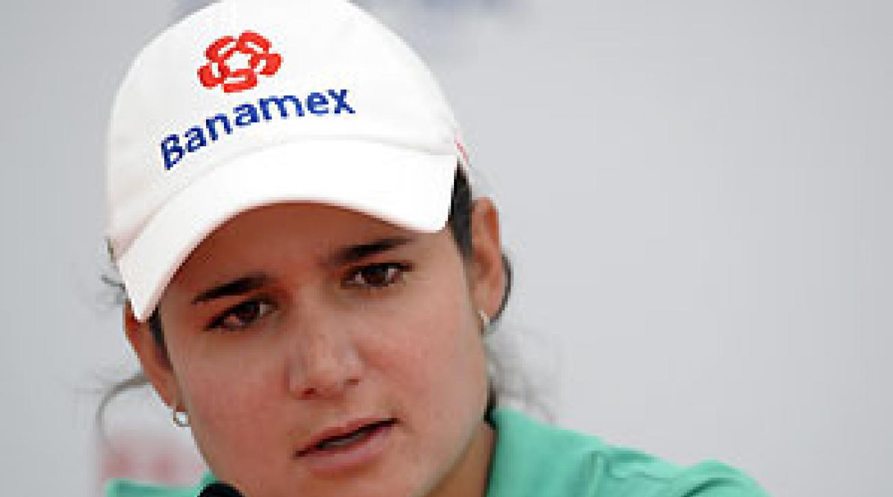 Lorena Ochoa won her first major last year at the British Open.