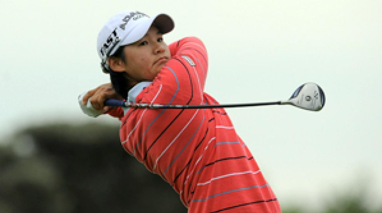 Yani Tseng made five birdies and a bogey on Friday.