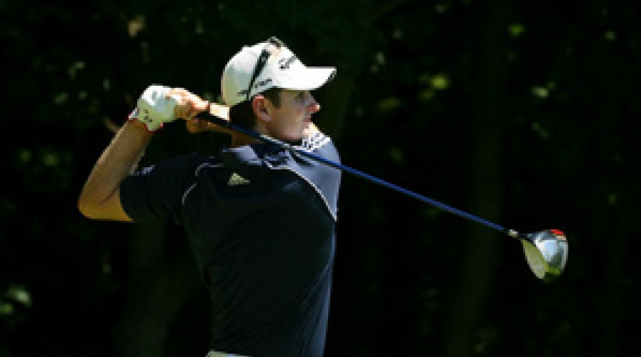 Justin Rose is trying to win his second event of the year after capturing the Memorial in June.