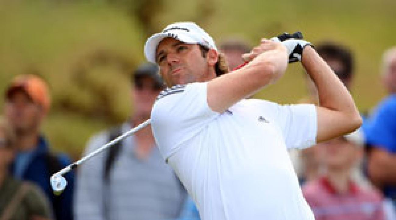 Sergio Garcia shot a 74 one day after shooting a 64.