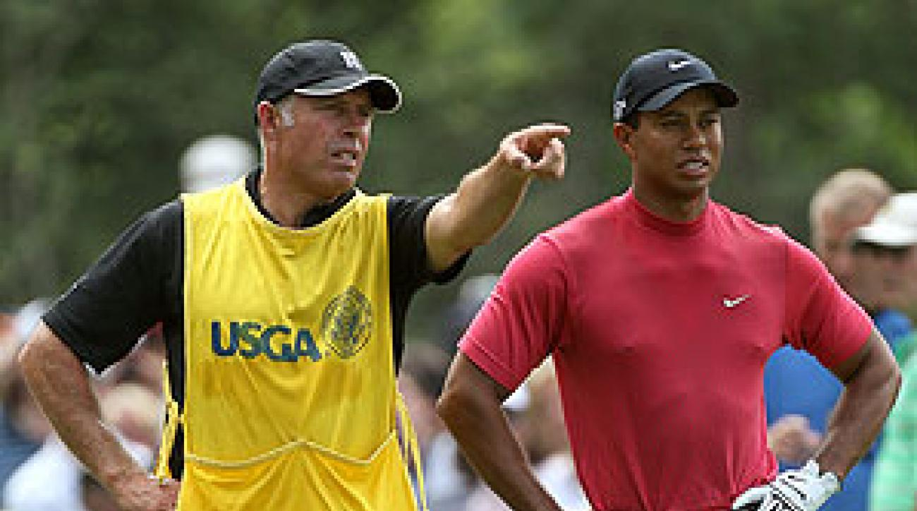 Steve Williams has caddied for Woods since 1999.