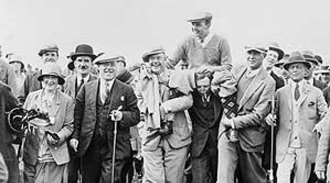 Sweetser's sportsmanship was rewarded at the 1926 British Amateur.