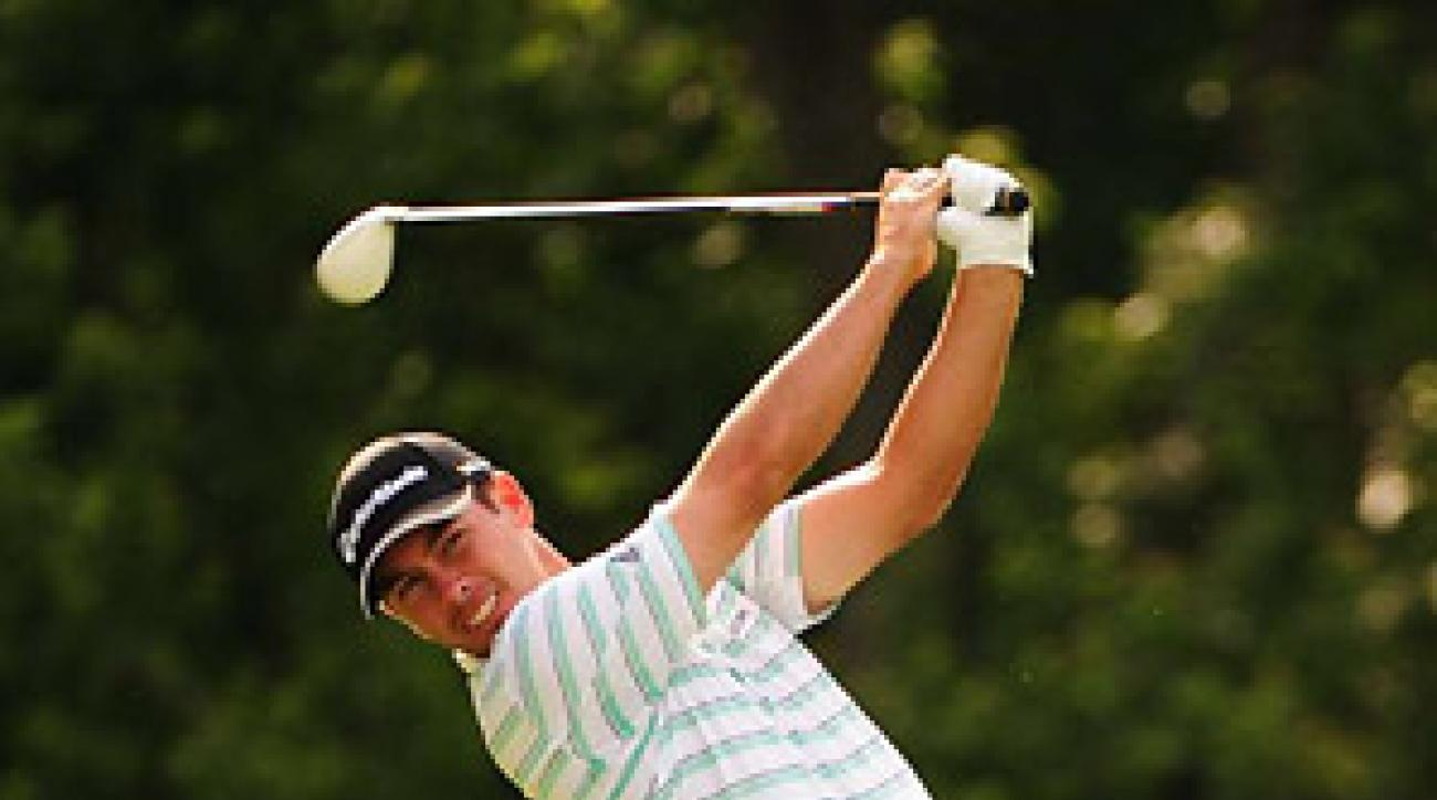 Chez Reavie fired a nine-under 62 to take the lead at the John Deere Classic.