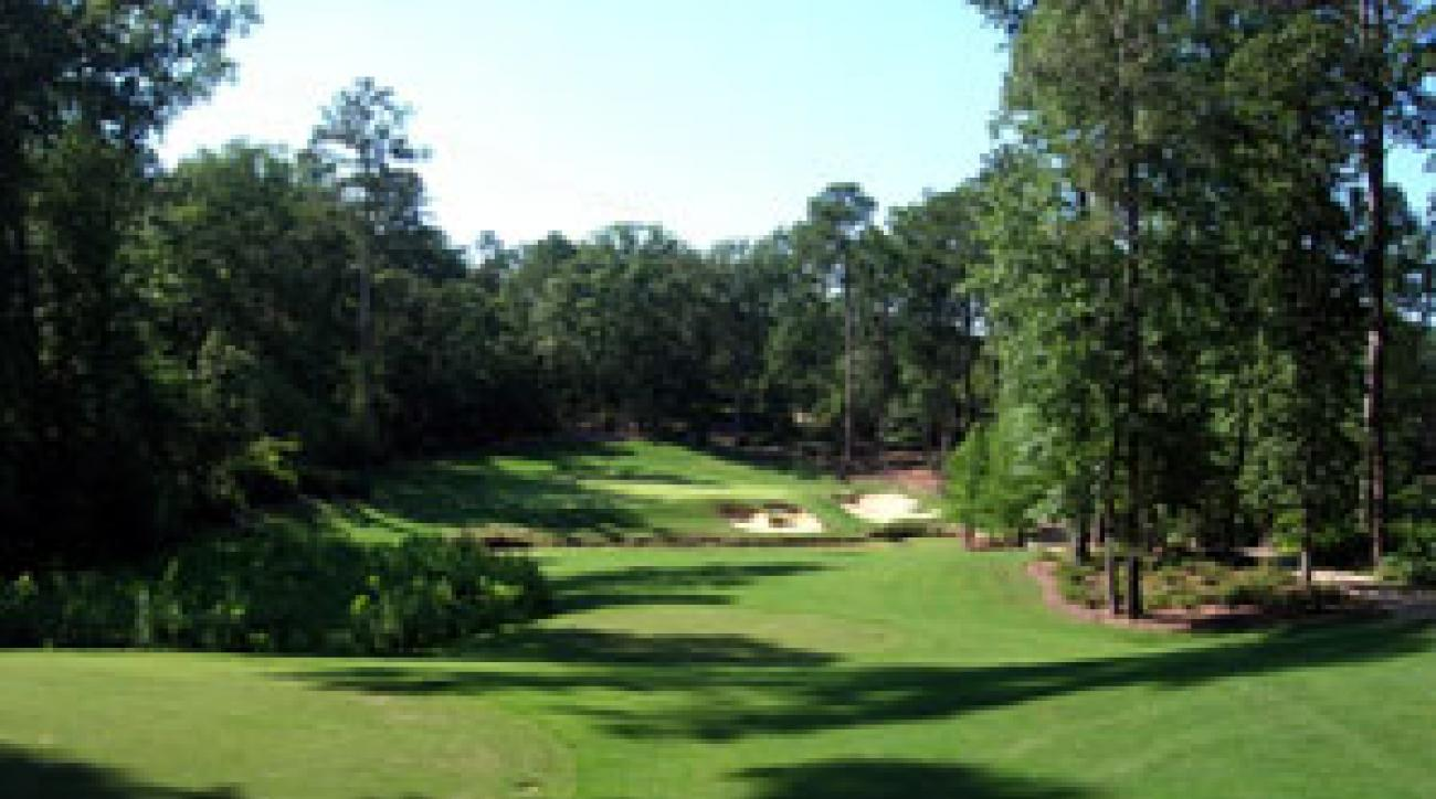 The Tom Fazio/Jerry Pate-designed Azaleas Course at Dancing Rabbit Golf Club in Choctaw, Mississippi.