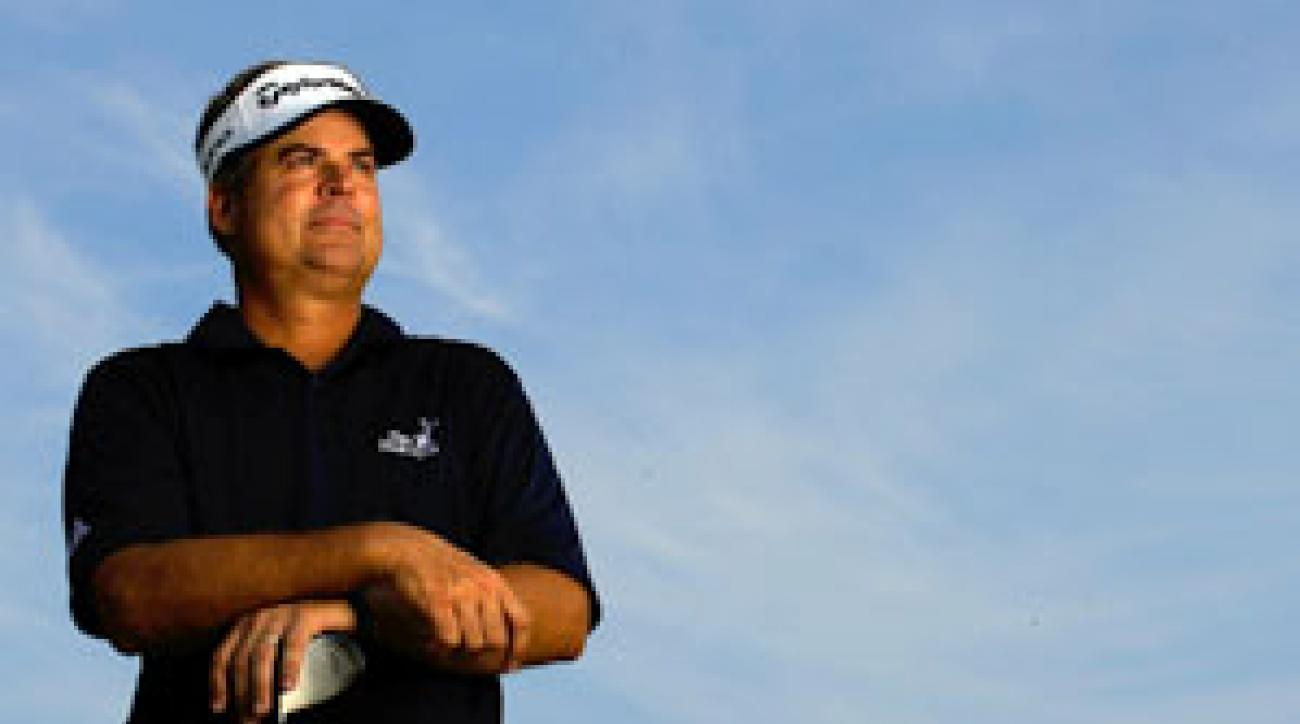 Perry plans to split time between the Champions and PGA tours.