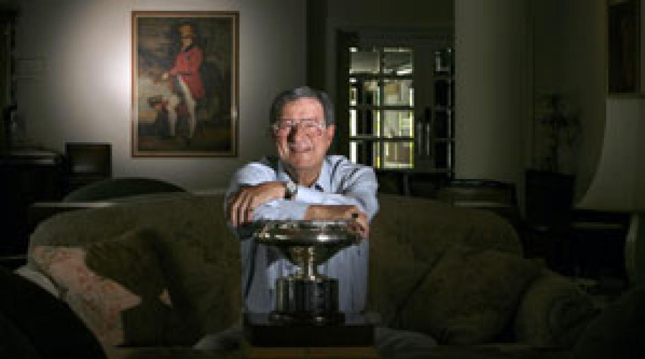Peter Thomson won $1,500 when he won the British Open in 1954.