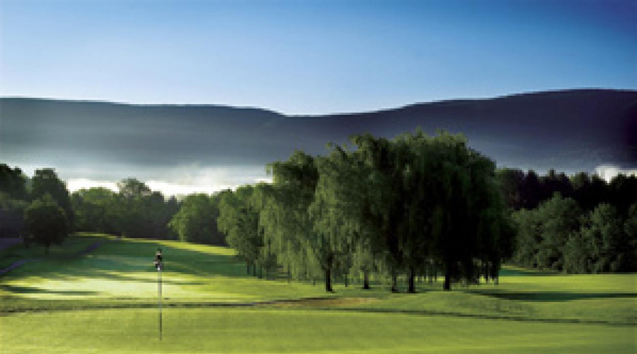 The leaves haven't changed, but it's hard to beat a summer round of golf at The Equinox.