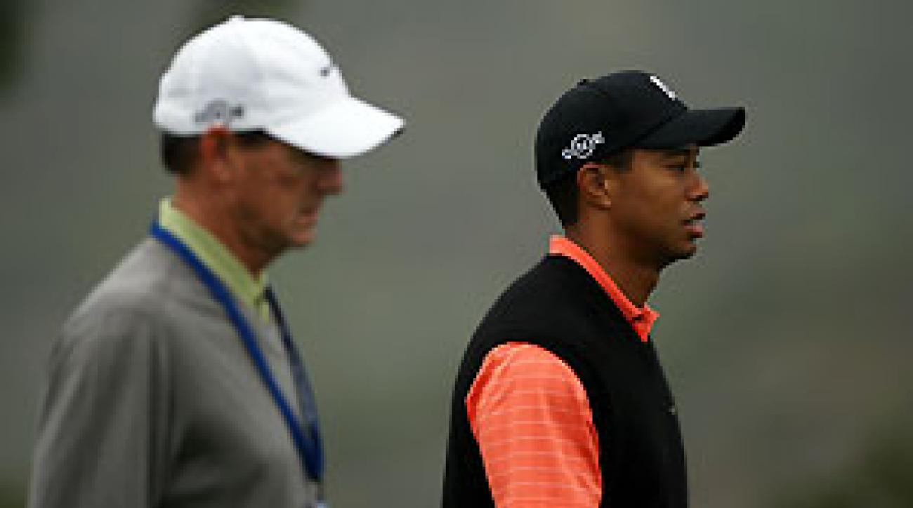 Swing coach Hank Haney may have to help Tiger Woods remake his swing again.