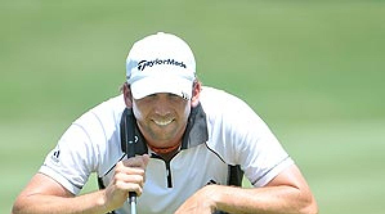 Garcia finished T4 at last week's Stanford St. Jude.