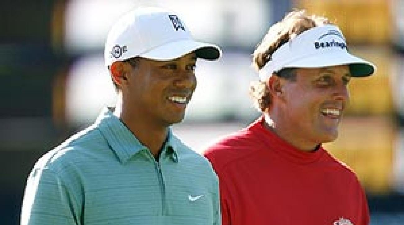 Phil and Tiger are a combined 2 for 30 at U.S. Opens.