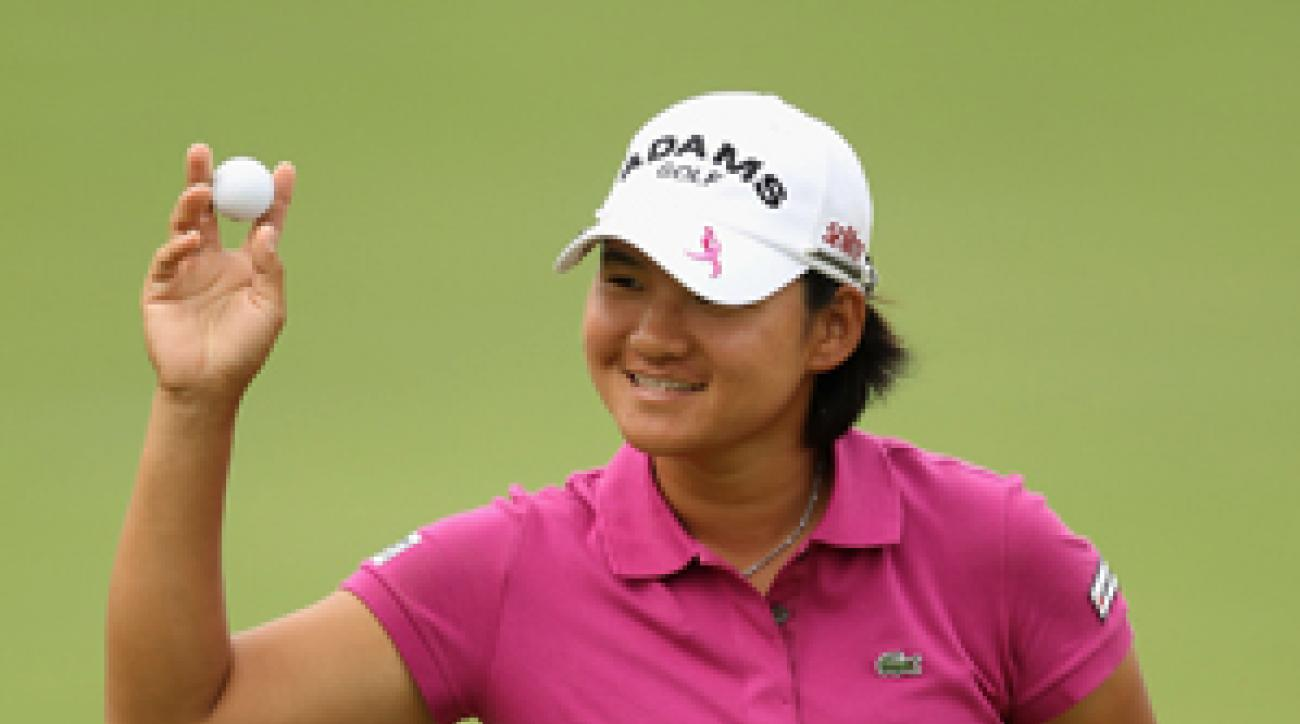 Yani Tseng made six birdies and no bogeys on Saturday.