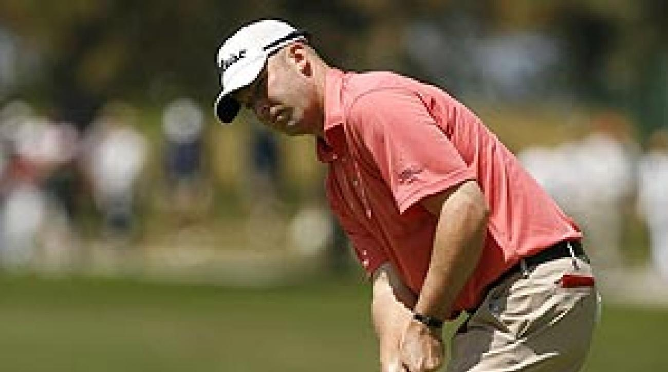 Hicks finished Thursday at four under par.