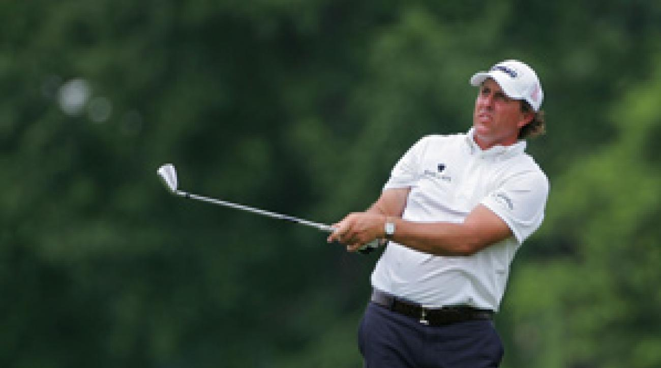 Phil Mickelson finished T59 at the St. Jude Classic.