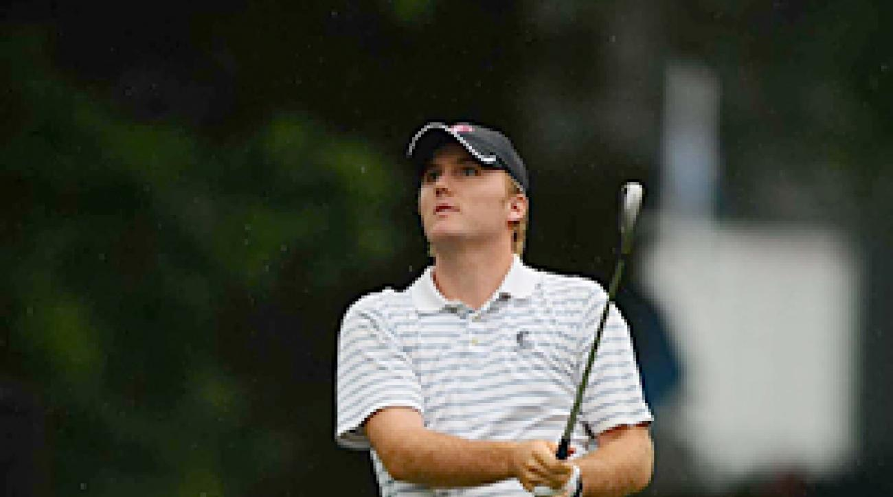 Russell Henley shot a two-over 73 Thursday at Congressional.