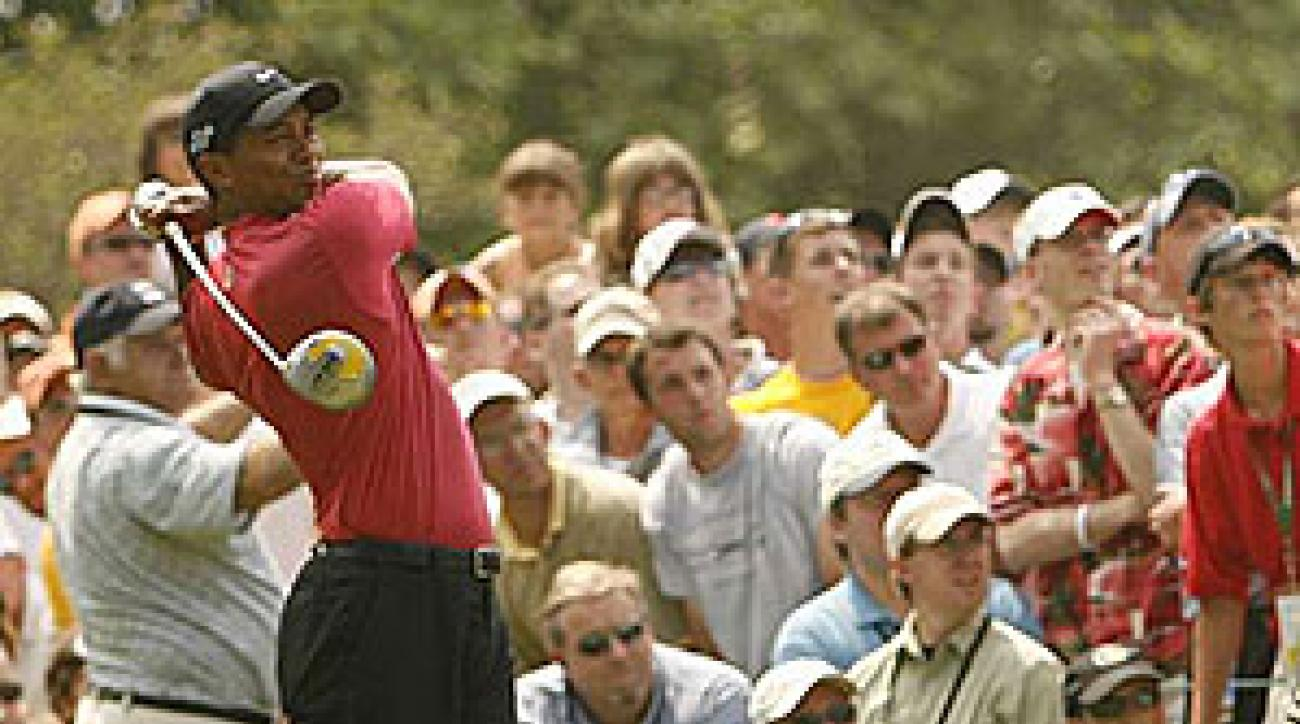 """""""Finishing second is never fun. You play so hard, and it's just disappointing,"""" Woods said."""
