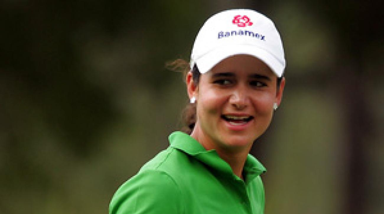 World No. 1 Lorena Ochoa fired a bogey-free 67.