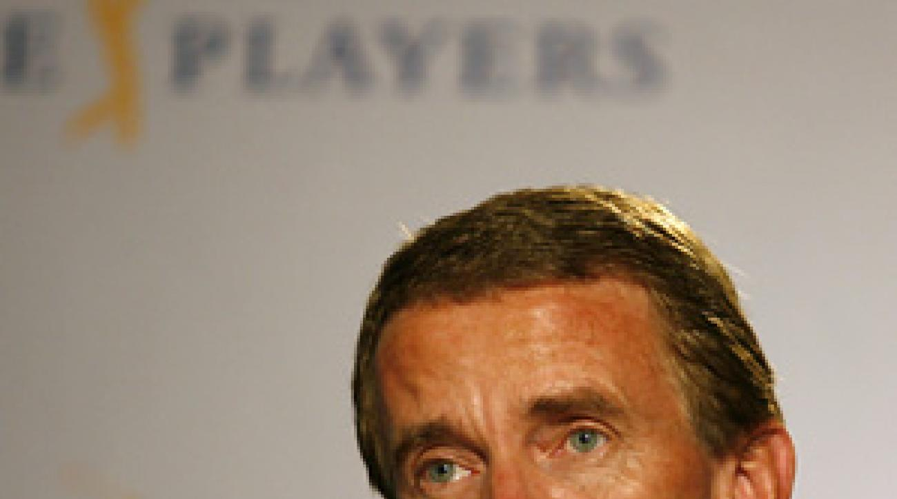 """Golf needs to move together on a global basis,"" Finchem said Wednesday."