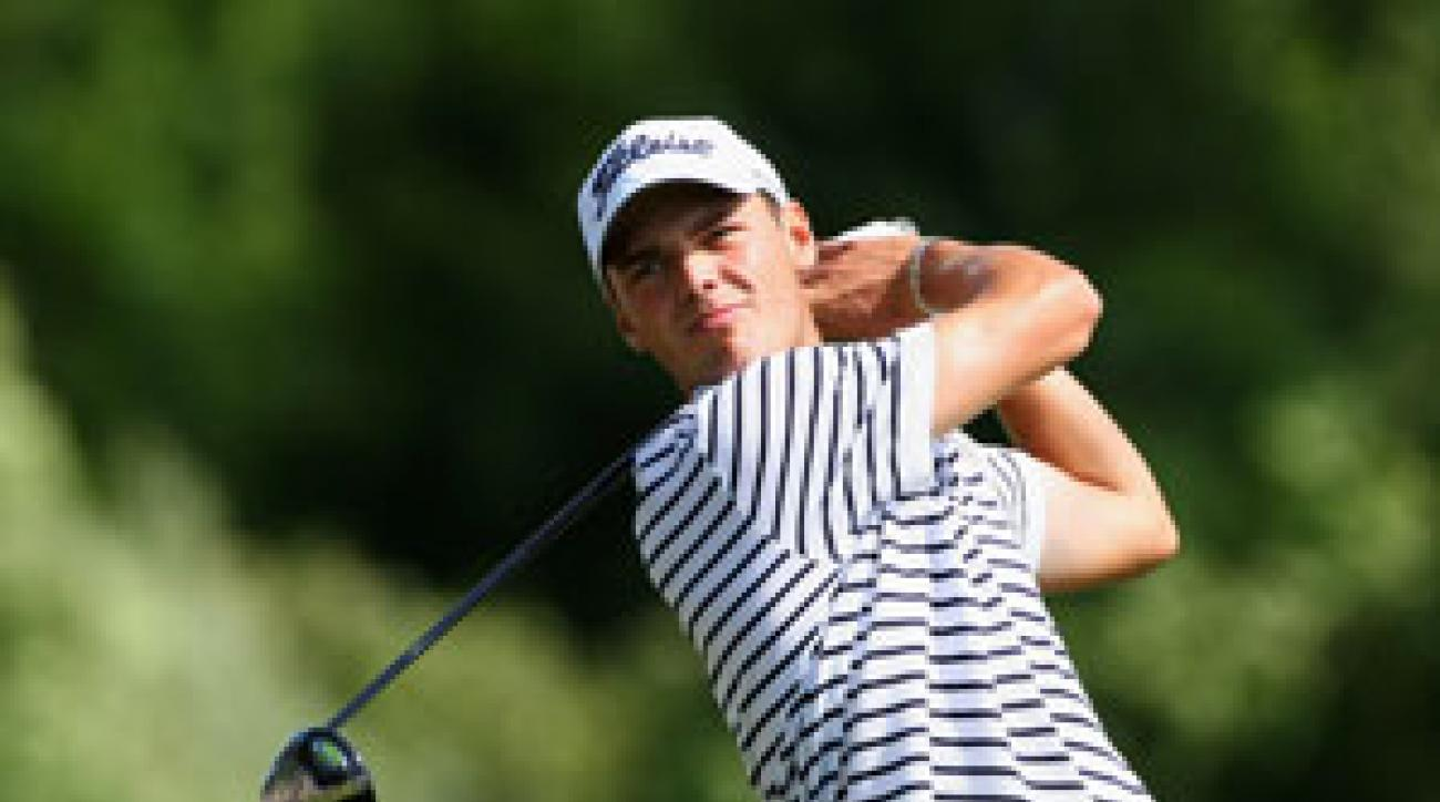 Martin Kaymer won his first title at Abu Dhabi in January and is touted as one of Europe's most promising young players.