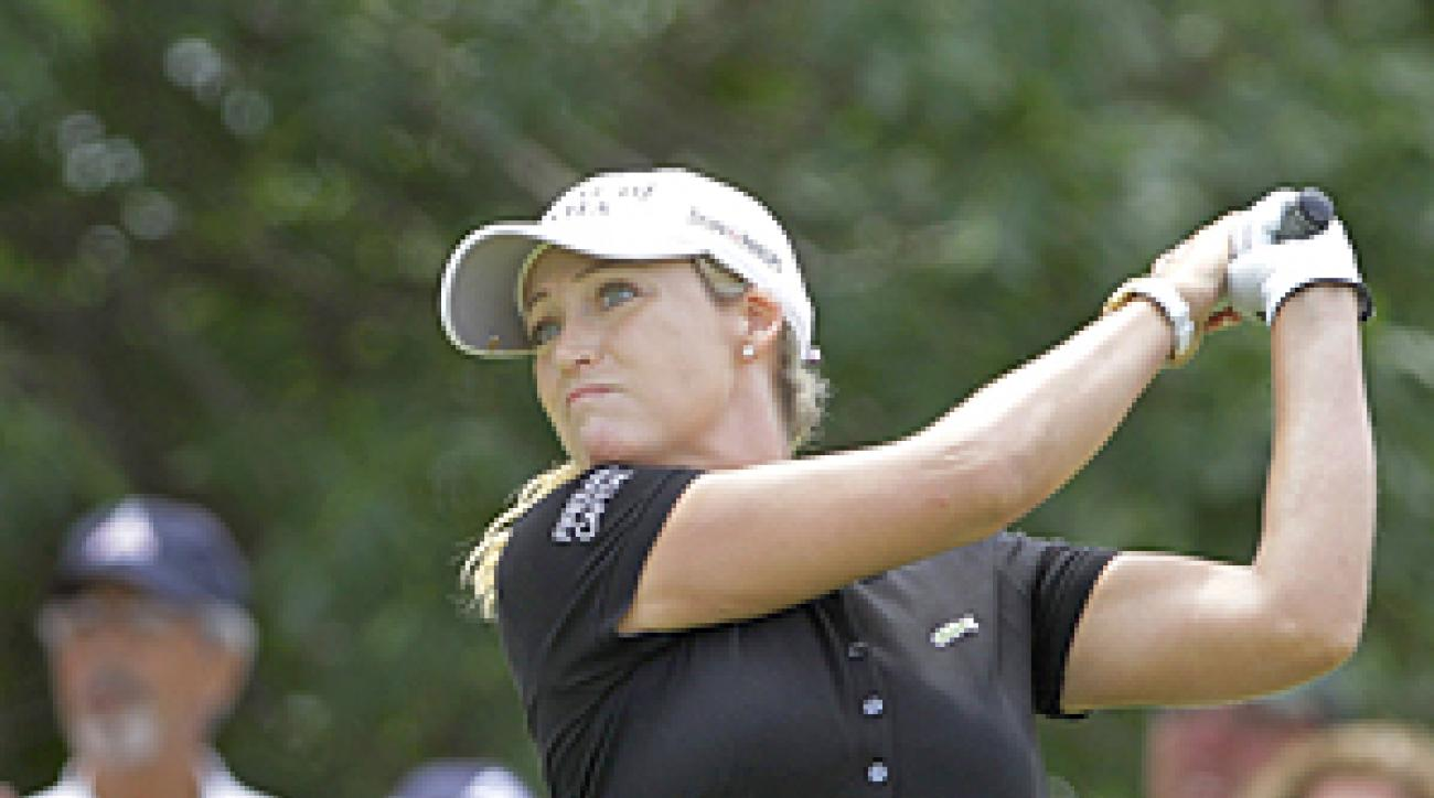 Cristie Kerr won the LPGA Championship last year by 12 strokes.