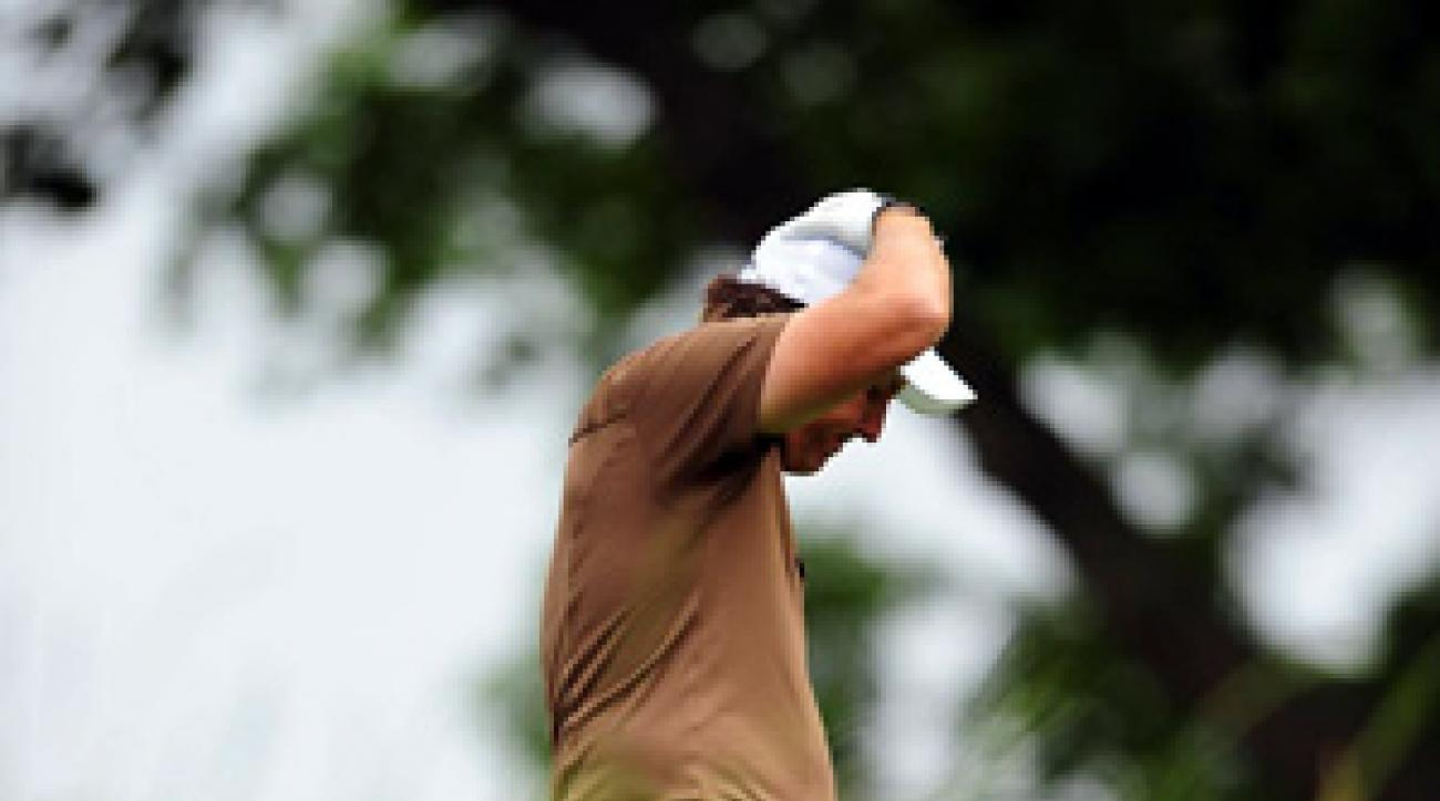 Phil Mickelson finished second in a U.S. Open for the fifth time.