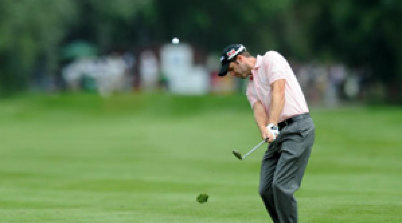 Bradley Dredge made six birdies and an eagle on Thursday.