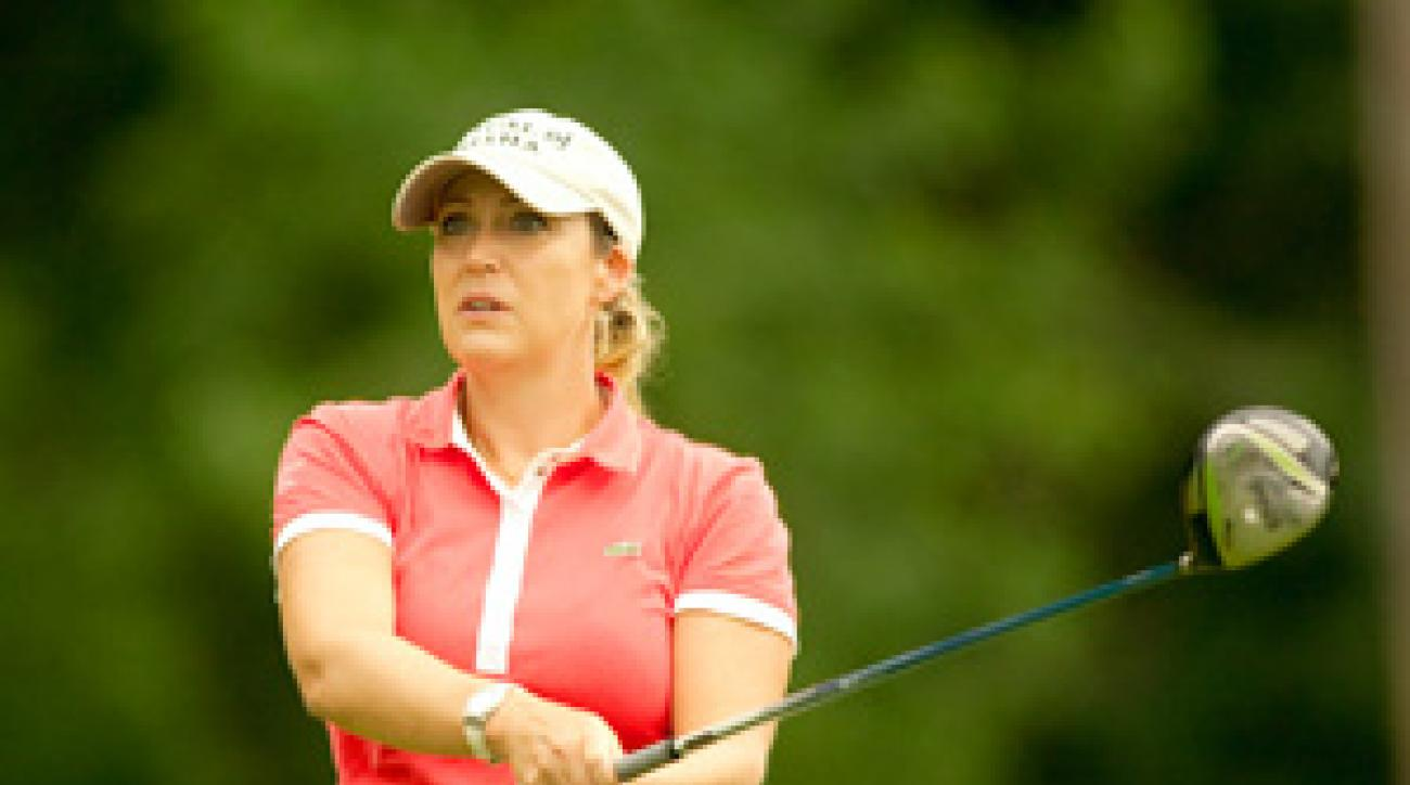 Cristie Kerr is the only American to win on the LPGA Tour this season.