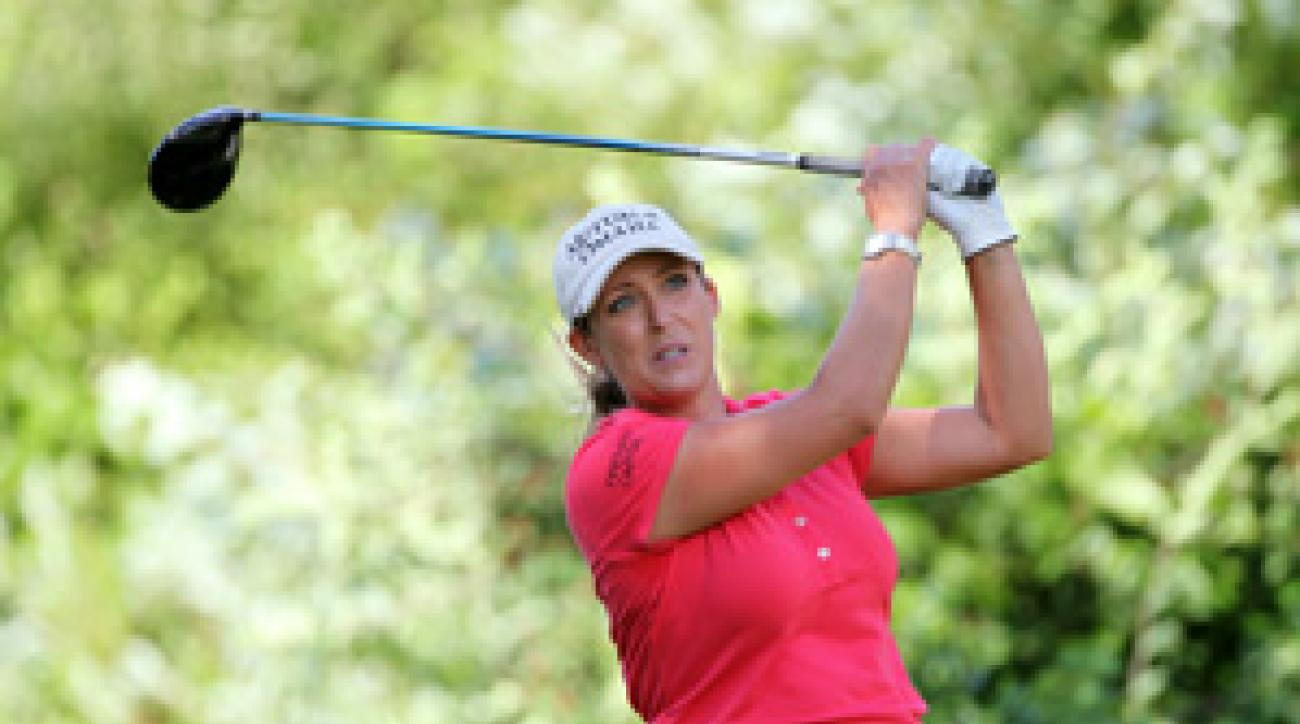 Cristie Kerr made five birdies and a bogey on Thursday.