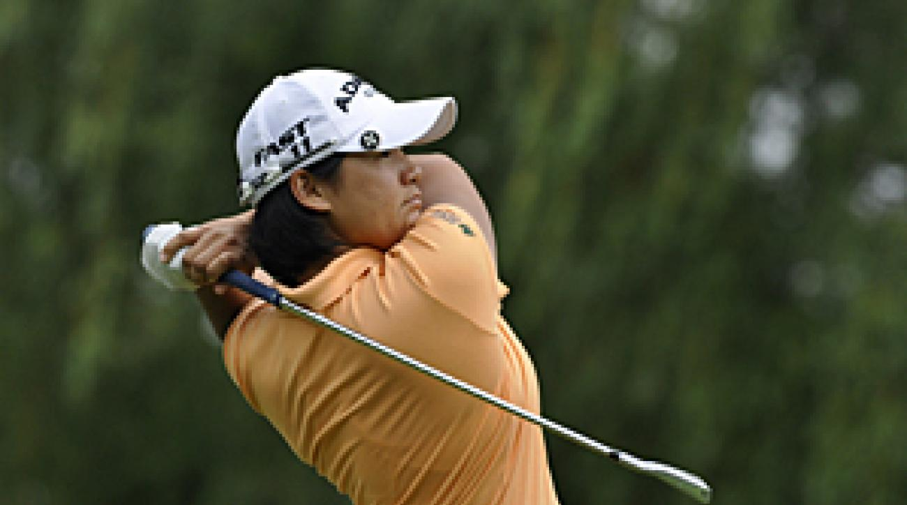 Yani Tseng made six birdies and one bogey on Saturday.