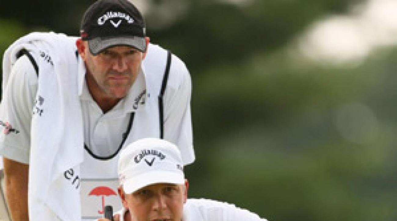 Fredrik Jacobson closed out his first PGA Tour title on Sunday, shooting a 66 in the final round of the Travelers Championship.