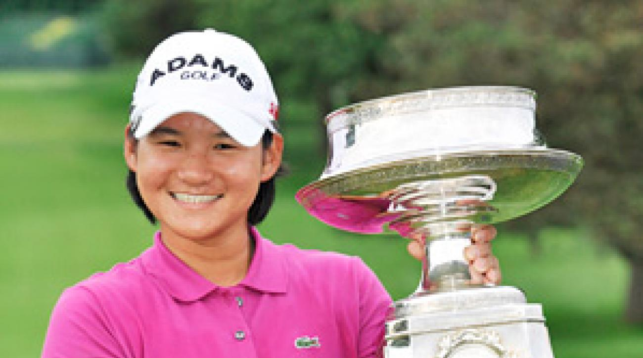 Yani Tseng won the LPGA Championship last month.