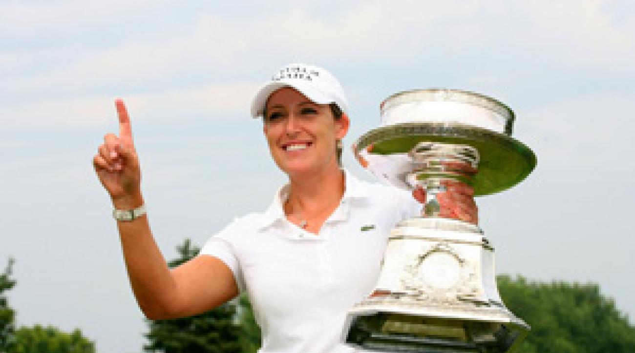 Cristie Kerr won in Tiger-like fashion on Sunday.