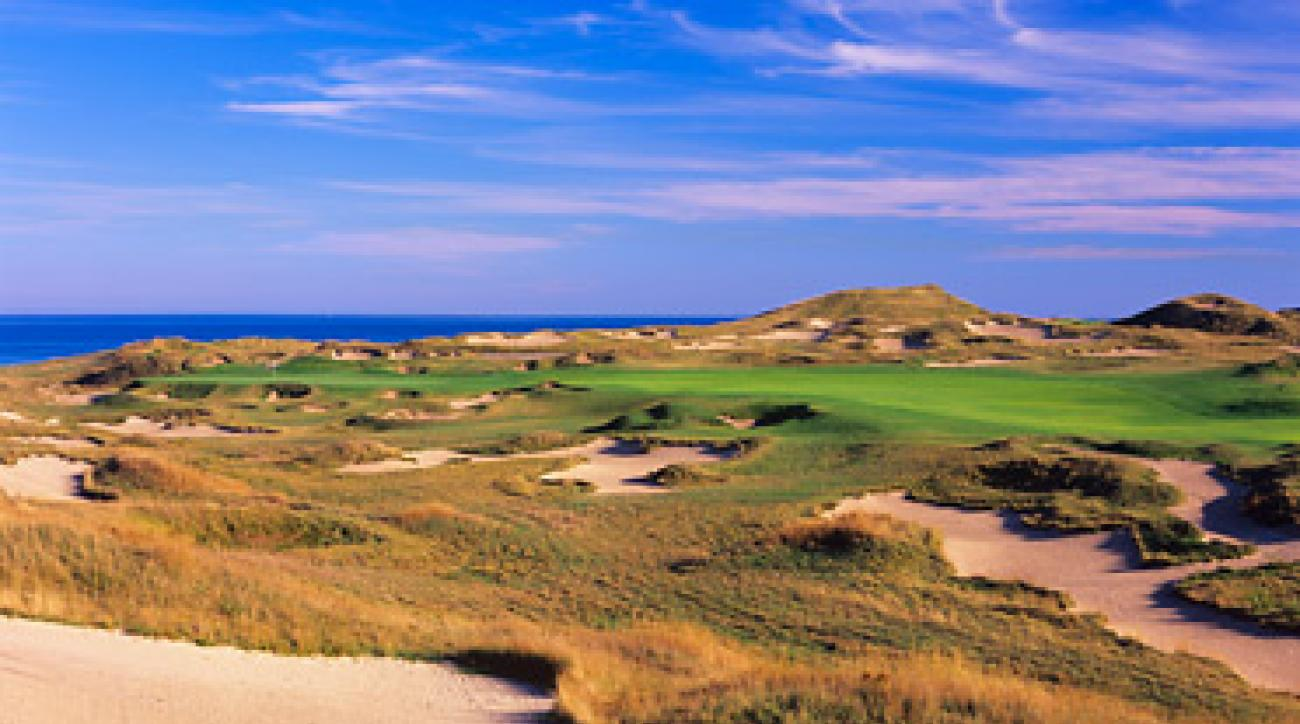 MINE FIELD: Bunker-filled courses like Whistling Straits don't help pace of play.