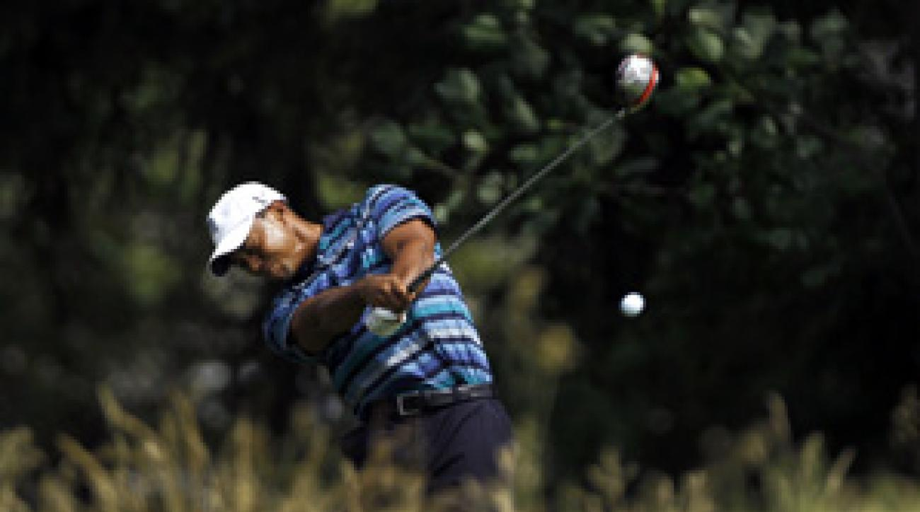 Defending champion Tiger Woods has yet to win this season.