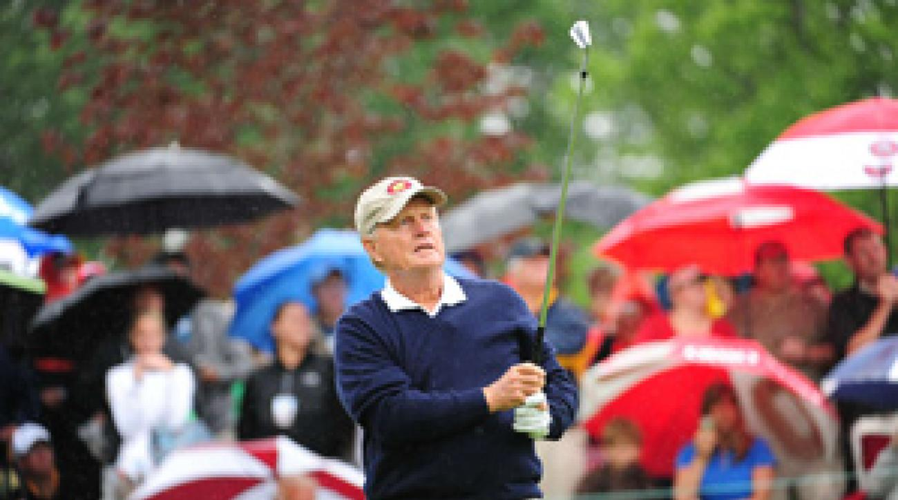 Jack Nicklaus won two skins on Wednesday.